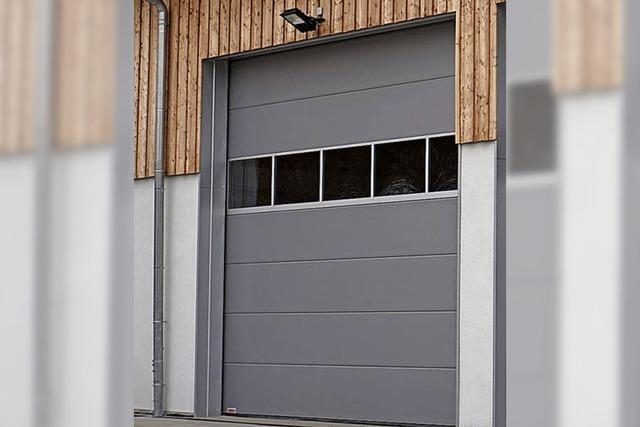 Ein Blick hinter die Tür des neuen Bauhofs