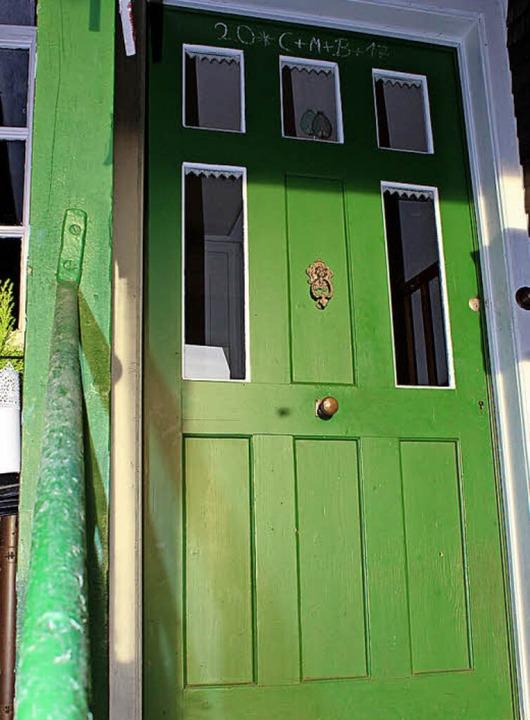 Die Tür zu Geowindow  | Foto: Erich Krieger
