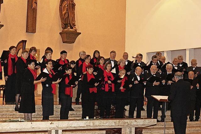 Gesang mit Flöte, Harfe und Orgel