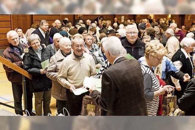 Waldkirchs Senioren waren ganz unter sich