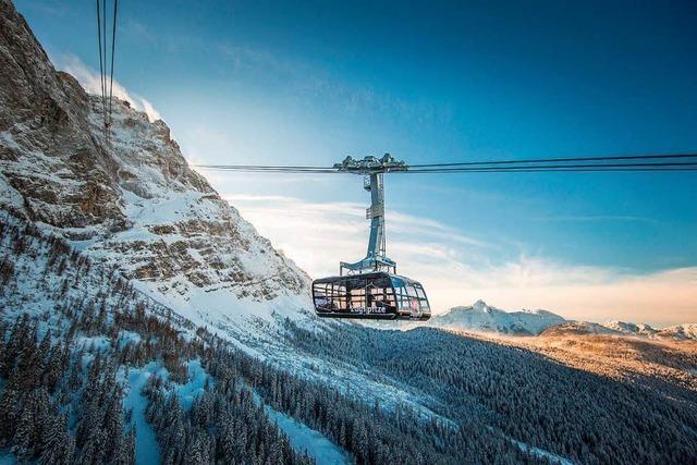 Die neue Seilbahn zur Zugspitze bricht zahlreiche Rekorde