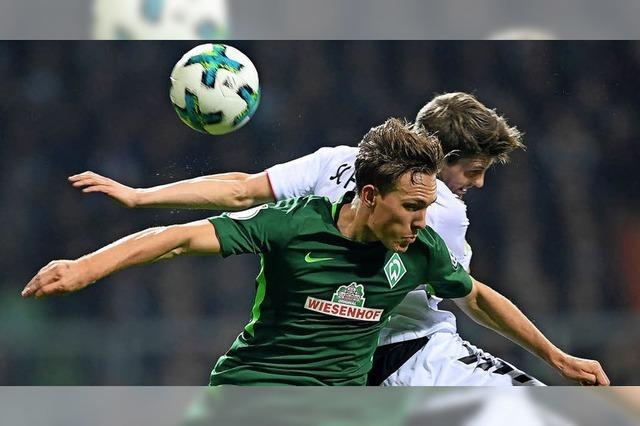 Pokal-Aus für den Sportclub Freiburg