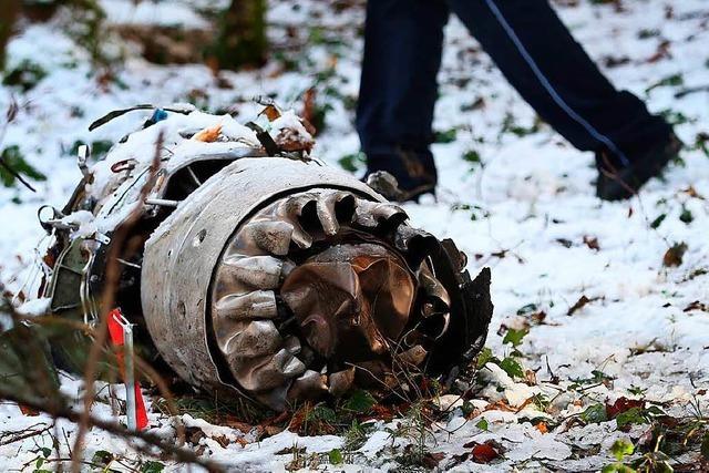 Flugzeugabsturz: Obduktion zeigt keine Erkrankung der Besatzung