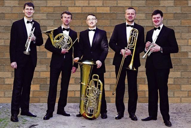 Brass Quintett Kiew Academy in Emmendingen