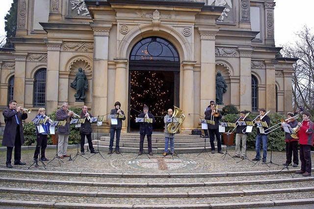 Traditionelles Konzert auf dem Hauptfriedhof