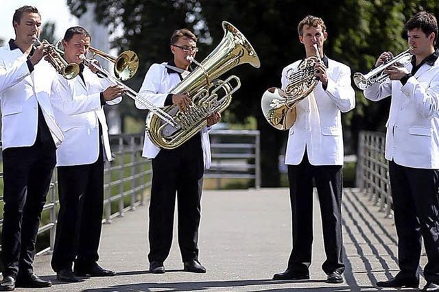 Brass-Quintett Kiew Academy zu Gast in Müllheim