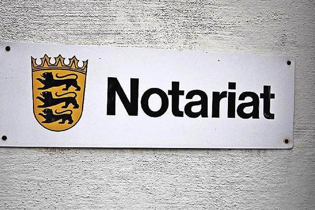 Das Notariat in Schönau schließt