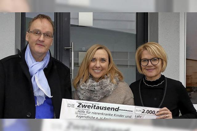 Spenden der Haungs GmbH