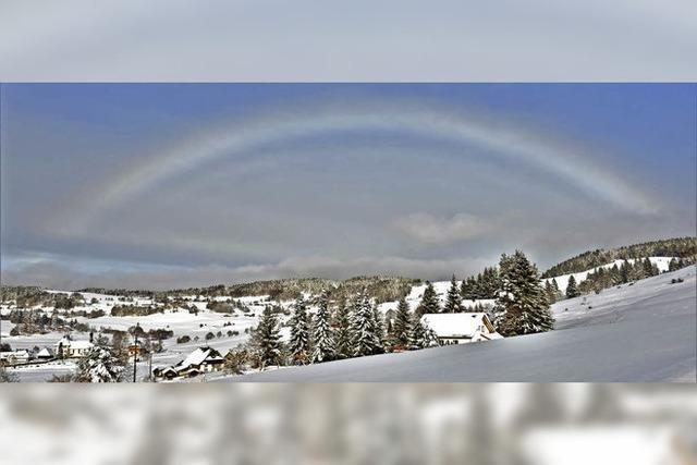 Weißer Regenbogen