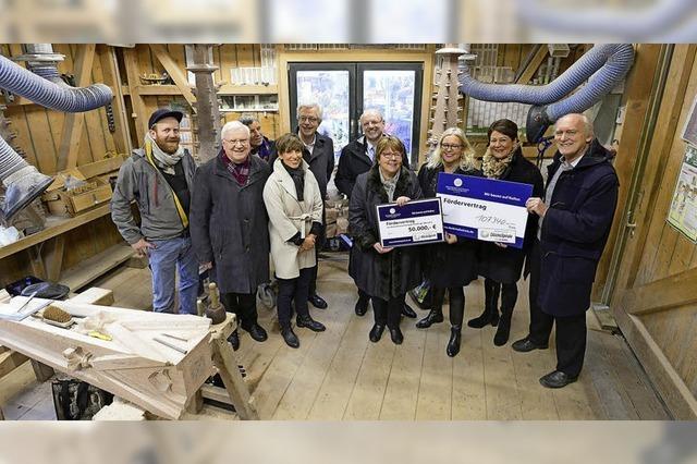 Spenden für den Münsterturm