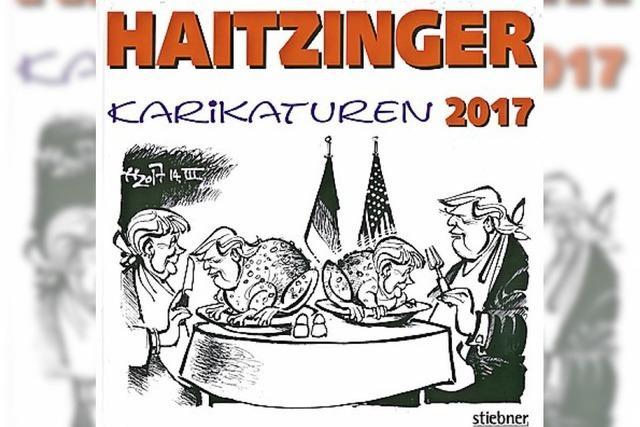 KARIKATUREN: Das Jahr mit Donald und Martin