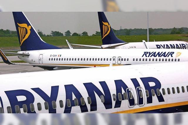 Warnstreik bei Ryanair