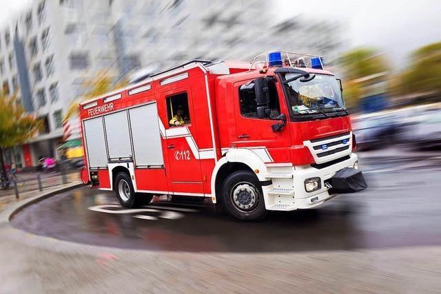 Mann nach Brand in Schopfheim in Lebensgefahr