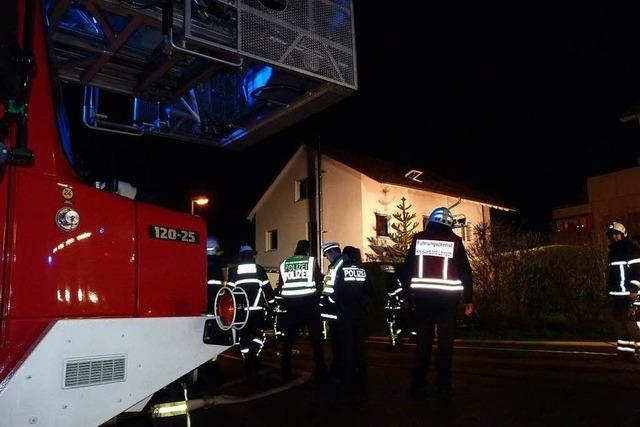 Ursache von Brand in Schopfheim noch unklar