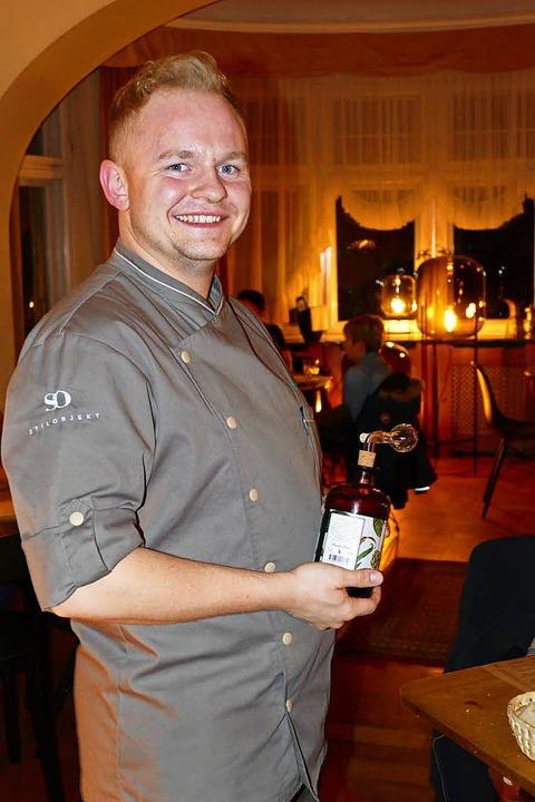 Sterne-Koch Nicolai Wiedmer aus Grenzach  | Foto: Peter Gerigk