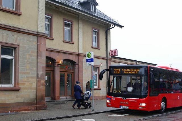 Der Bahnhof in Rheinfelden steht zum Verkauf