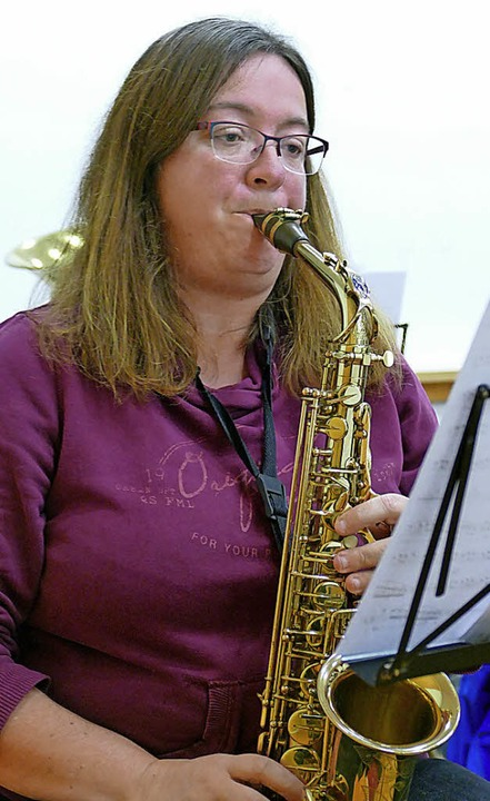 Saxophonistin Silvia Schwörer  | Foto: Markus Donner
