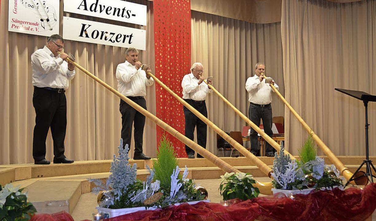 Alphorn Weihnachtslieder.Weihnachtslieder Aus Den Bergen Elzach Badische Zeitung
