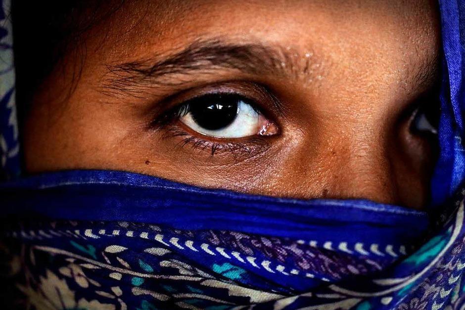 Frauen im Flüchtlingslager in Kutupalong (Foto: dpa)