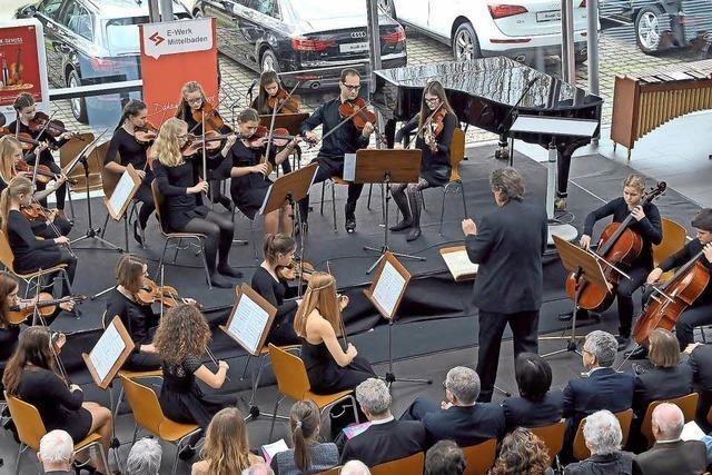Städtische Musikschule im Audi Hangar