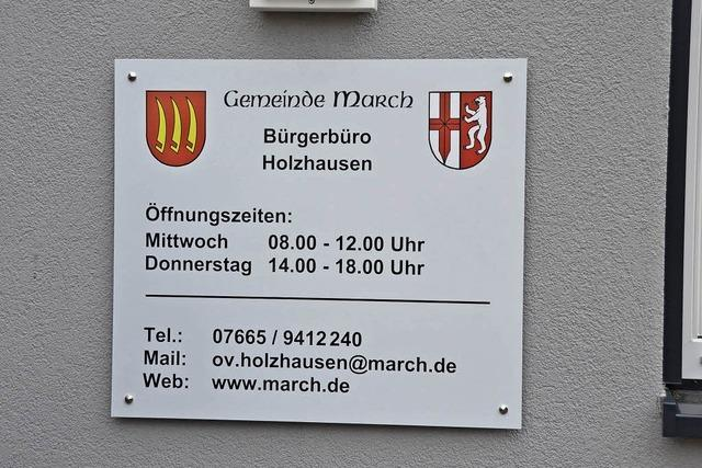 Holzhausen erhält wieder Bürgerbüro