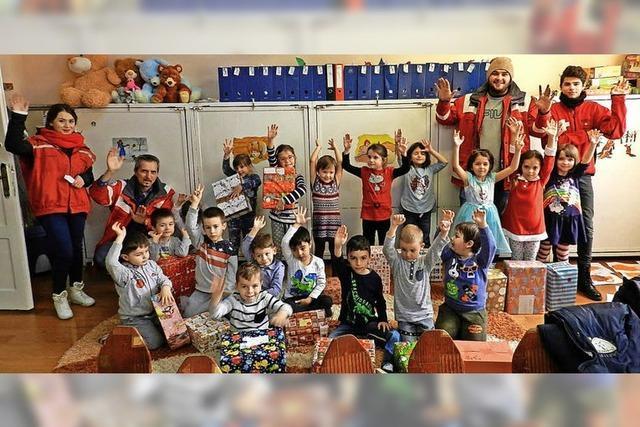 1700 Päckchen für Rumänien