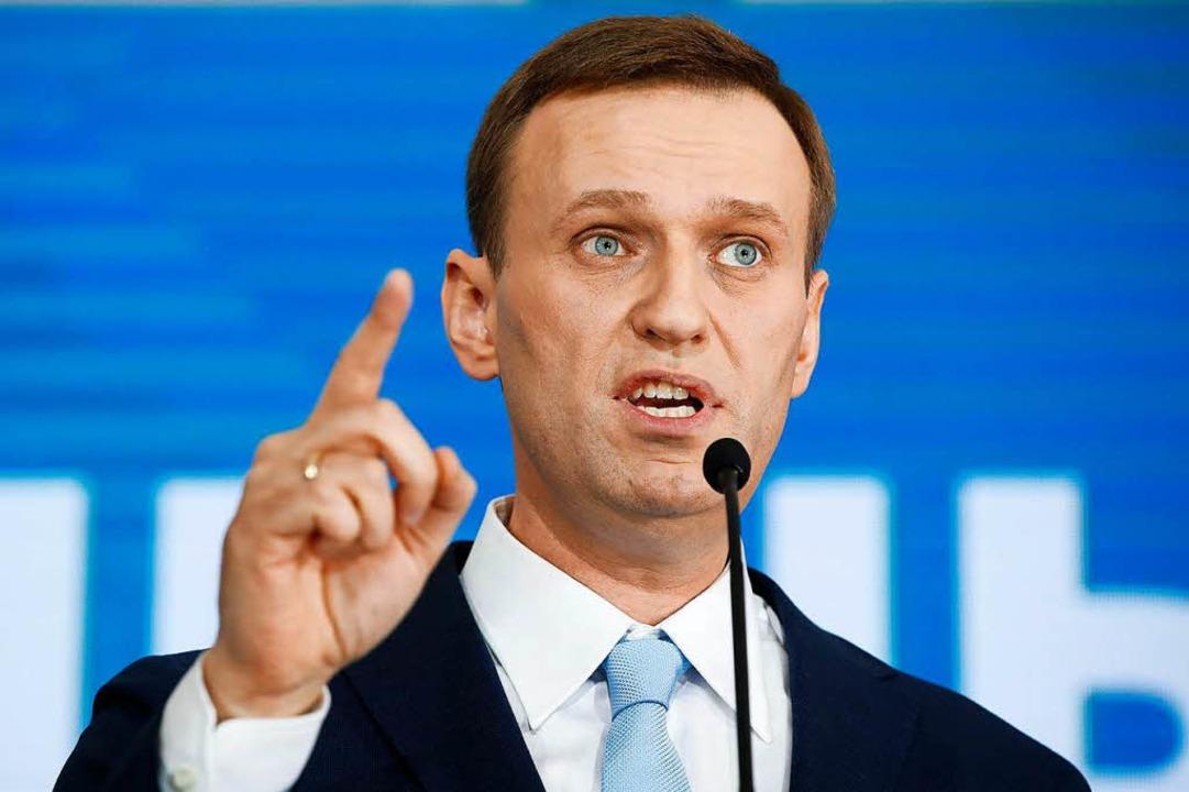 Alexej Nawalny ruft zu landesweiten Kundgebungen auf