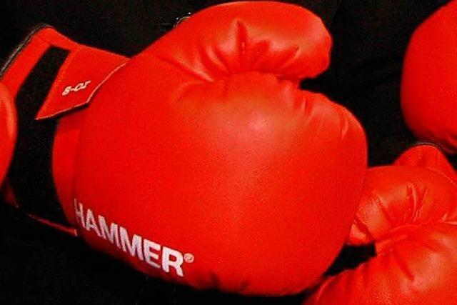 Schnelles Aus für betrunkenen Möchtegern-Boxkämpfer
