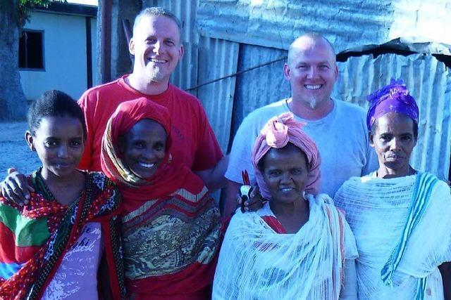 Zwei Brüder aus Lörrach bauen an einem Krankenhaus in Eritrea mit