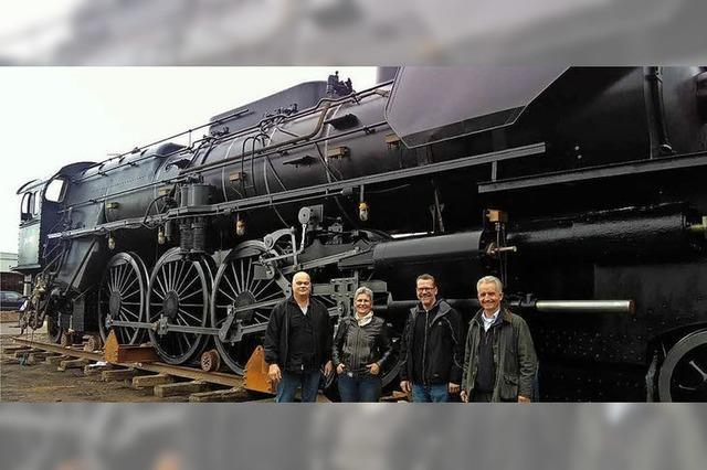 Schweizer Lok wird zum Filmstar