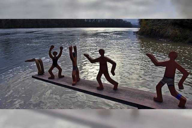 Sprung ins kalte Wasser zum Jahreswechsel