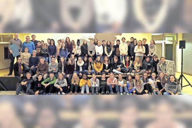 Bretonen bereichern das Schulleben