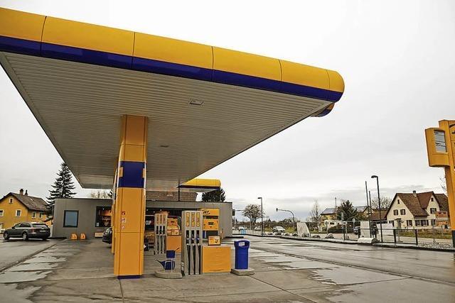Tankstelle an der B 3 wird heute eröffnen