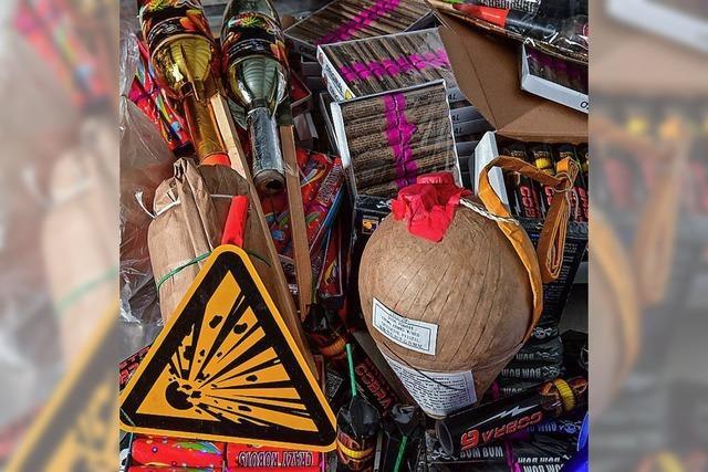 Knaller selberbasteln oder ungeprüfte importieren ist sogar strafbar