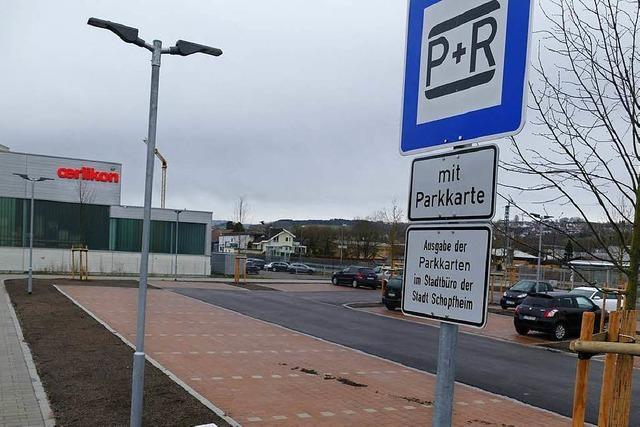Park&Ride-Anlage in Schopfheim soll teilweise öffentlich werden