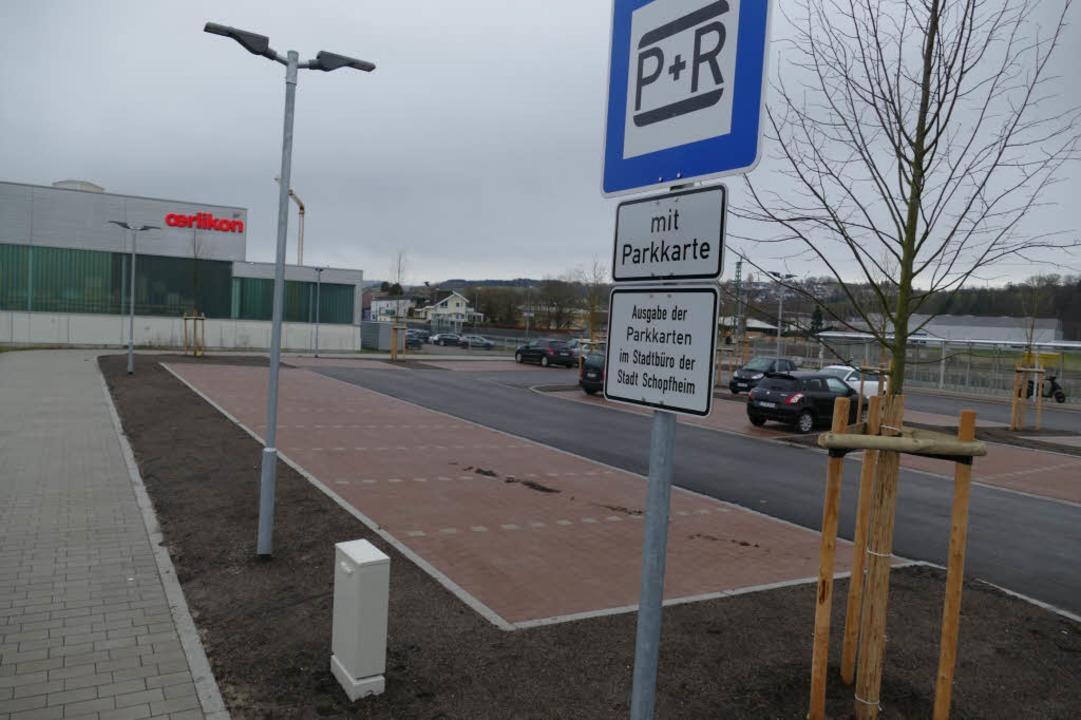 Signalwirkung erhofft sich die Stadt v...ichen und gebührenfreien Parkplatz um.  | Foto: André Hönig