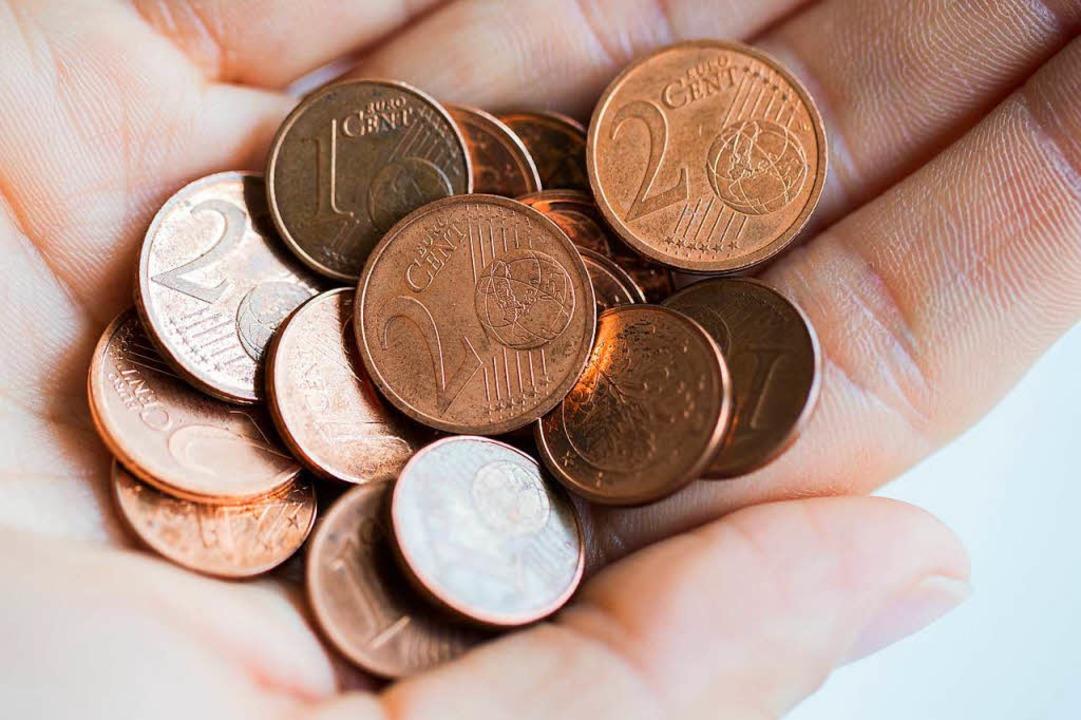 Für eine Handvoll Cent: Eine Rentenkas...ng in Höhe von 20 Cent zu informieren.  | Foto: dpa