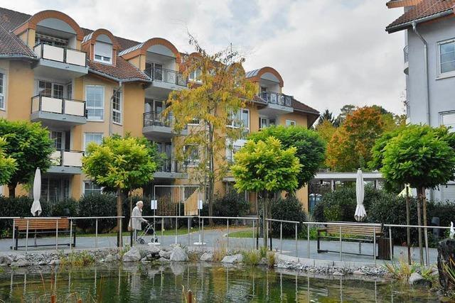 Das Seniorenheim Gevita baut ein neues Wohnhaus in Lörrach