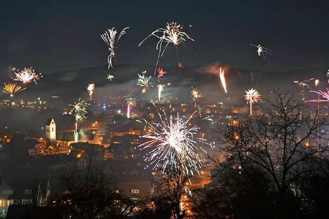 Tipps für schöne Aussichten aufs Feuerwerk im Landkreis Lörrach