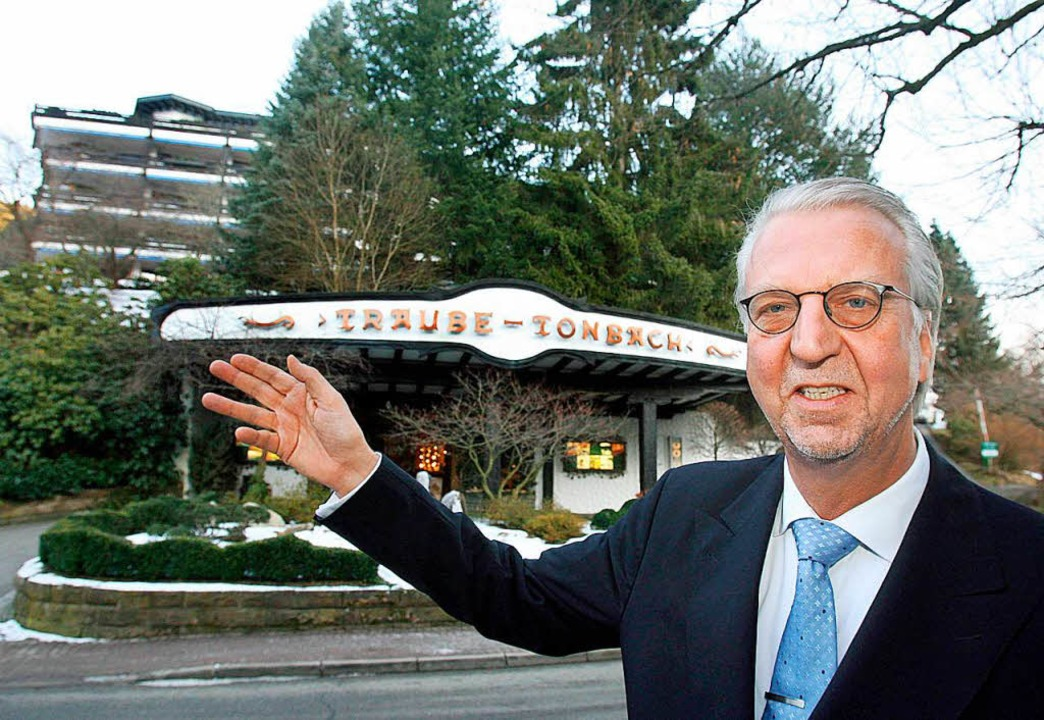 Um eine Auszeichnung reicher: Hotelier Heiner Finkbeiner   | Foto: DPA