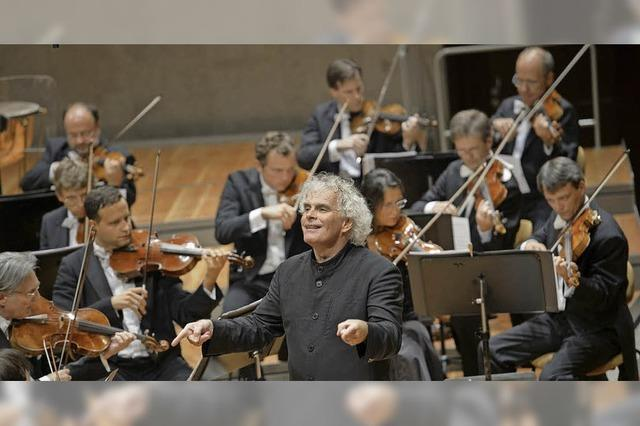 Silvesterkonzert der Berliner Philharmoniker , live im Lörracher Kino Metropolis