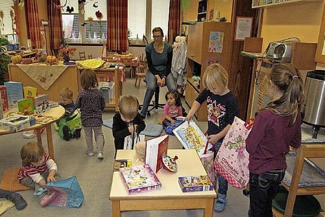 Schon Kinder lernen teilen