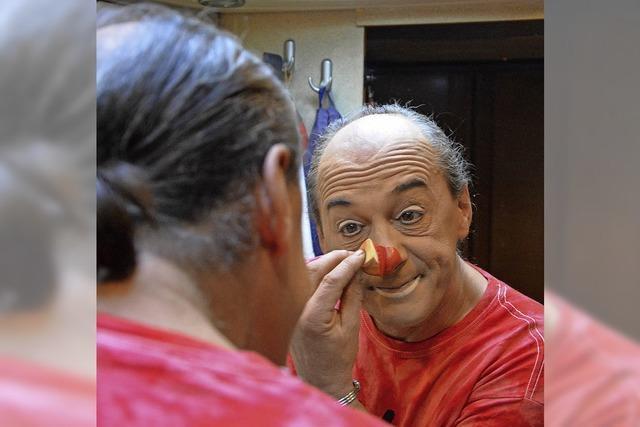 Der Clown ist immer auf alles gefasst