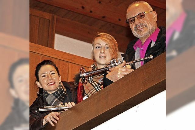 Orgel, Flöte und Trompete
