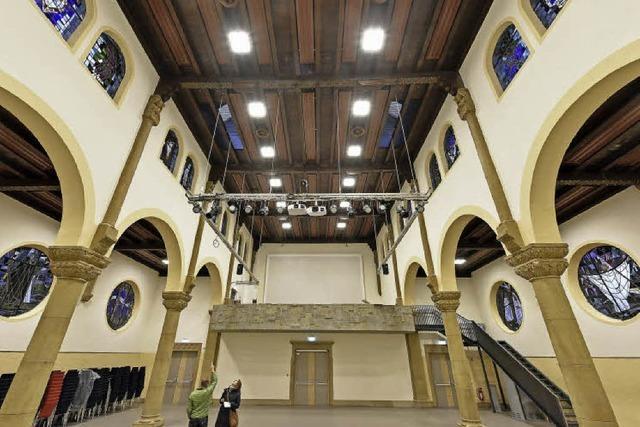 Nach langer Sanierungspause öffnet der Paulussaal wieder