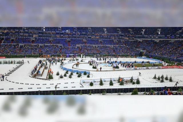 Biathlon-Spektakel auf Schalke