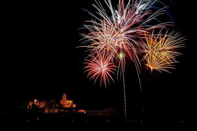 Rheinfelden: Gute Plätze ums Feuerwerk zu sehen