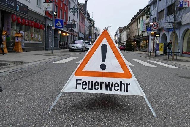 Rheinfelden: Verbranntes Essen ruft Feuerwehr auf den Plan