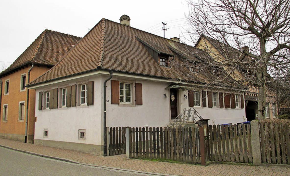 In diesem Anwesen in der Hauptstraße 4...tig Flüchtlinge untergebracht werden.   | Foto: Mario Schöneberg