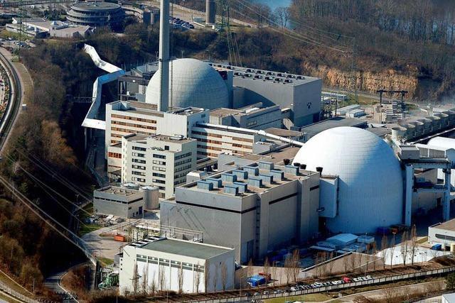 Leck in Rohrleitung bei Atomkraftwerk Neckarwestheim
